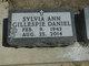 Sylvia Ann <I>Gillespie</I> Daniel