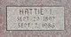 Hattie I. <I>Oyster</I> Campbell