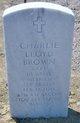 Capt Charlie Lloyd Brown