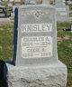 Profile photo:  Charles A. Knisley