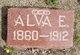 """Profile photo:  Alva E """"Ed"""" Baker"""