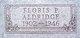 """Floris Evelyn """"Pat"""" <I>Patterson</I> Aldridge"""