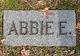 Profile photo:  Abbie E <I>Dencer</I> Leach