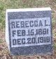Rebecca L. <I>Bickford</I> Morrison