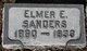 Profile photo:  Elmer E. Sanders