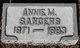 Profile photo:  Annie M. Sanders