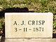 """Profile photo:  Anthony Jefferson """"A.J."""" Crisp"""