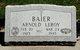 PFC Arnold Leroy Baier