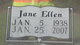 Jane Ellen <I>McAllister</I> Poston