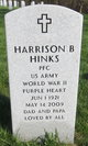 "Harrison B ""Johnny"" Hinks"