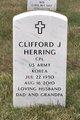 Corp Clifford Joseph Herring