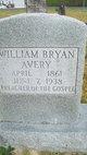 Profile photo:  William Bryant Avery