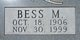 "Profile photo:  Elizabeth M. ""Bess"" <I>Clark</I> Allen"