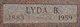 Lyda Bell <I>Cotton</I> Nay