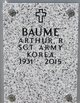 "Profile photo:  Arthur R ""Bob"" Baume"