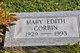 Mary Edith Corbin