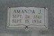Amanda <I>Johnson</I> Turner