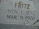 "Profile photo:  Friedrich ""Fritz"" Stehle"