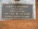 """Profile photo:  Albert E. """"Andy"""" Anderson"""