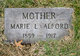 Profile photo:  Marie Louise <I>Russell</I> Alford