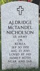 Profile photo:  Aldridge McTandel Nicholson