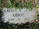 Profile photo:  Evaleen June <I>Bowen</I> Abbott