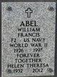 Profile photo:  William Francis Abel