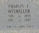 Profile photo:  Charles Frederick Wismiller
