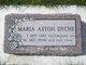 Profile photo:  Maria <I>Aston</I> Dyche