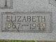 Profile photo:  Elizabeth <I>Smith</I> Butler