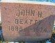 John H Beatty