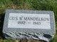 """Gustav William """"Gus"""" Mandelkow"""