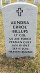 "Profile photo:  Aundra Errol ""Dre"" Billups"