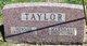 "Minnie Madge ""Maggie"" <I>Turner</I> Taylor"