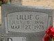 Profile photo: Mrs Lillie Gertrude <I>Helton</I> Farmer