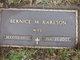 Bernice Mary <I>Dahl</I> Karlson