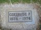 "Profile photo:  Gertrude Florence ""Gertie"" <I>Douglass Brown</I> Brackin"