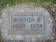 """Profile photo:  Benton Dempster """"Ben"""" Brackin"""