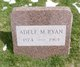 Profile photo:  Adele M. Ryan