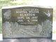 Martha Nell Tate <I>Wilcox</I> Blanton