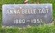 Profile photo:  Anna Belle Tait