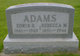 """Rebecca M. """"Bessie"""" <I>Wisegarver</I> Adams"""