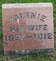 "Profile photo:  Albertine ""Minnie"" <I>Ott</I> Bunde"
