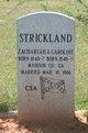 "Zachariah ""Zack"" Strickland"