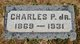 Profile photo:  Charles Purnell Tatman, Jr