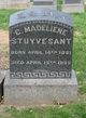 """Profile photo:  Caroline Madeline """"Lena"""" Stuyvesant"""