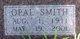 Bessie Opal <I>Smith</I> Bartlett