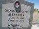 Profile photo:  Chandler Andrew Alexander