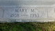 Mary M. <I>Bair</I> Albright