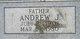 Profile photo:  Andrew Jackson Boshers, Sr